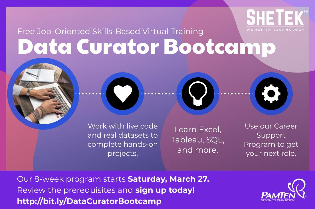 Data Curator Bootcamp