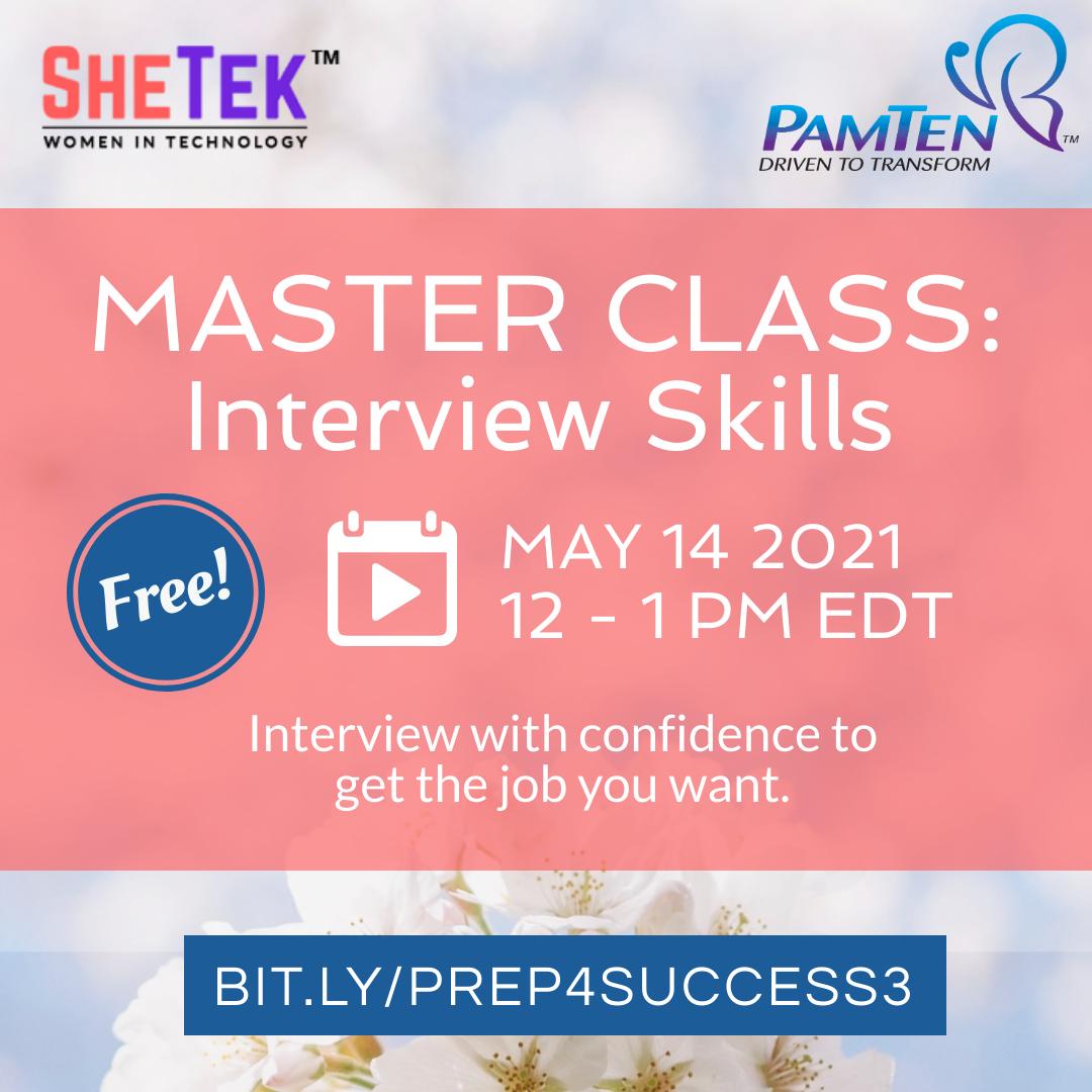 Master Class: Interview Skills