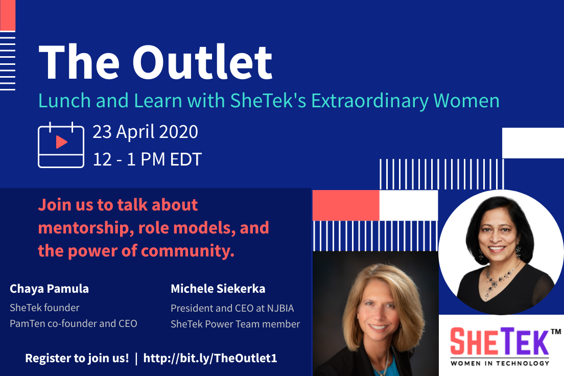 The Outlet 1: Lunch & Learn with SheTek's Extraordinary Women
