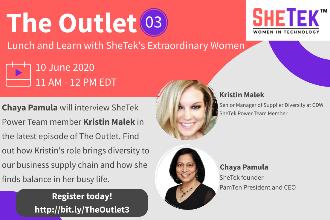 The Outlet Episode 3: Lunch & Learn with SheTek's Extraordinary Women