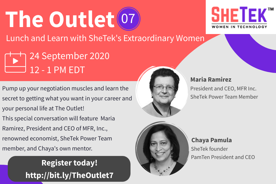 The Outlet Episode 7: Lunch and Learn with SheTek's Extraordinary Women