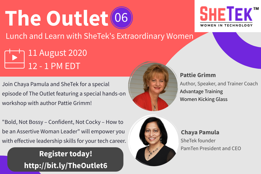 The Outlet Episode 6: Lunch & Learn with SheTek's Extraordinary Women