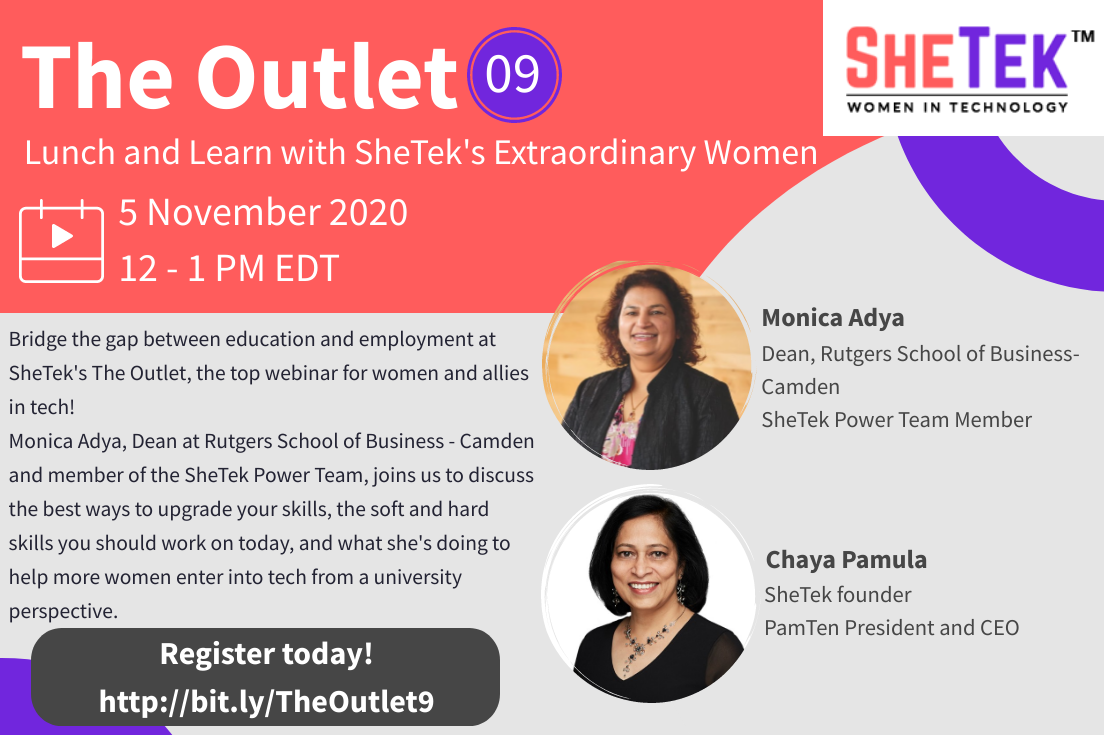 The Outlet Episode 9: Lunch and Learn with SheTek's Extraordinary Women